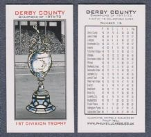 Derby County 1st Division Trophy 15
